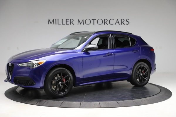New 2020 Alfa Romeo Stelvio Ti Q4 for sale $52,145 at Bentley Greenwich in Greenwich CT 06830 2
