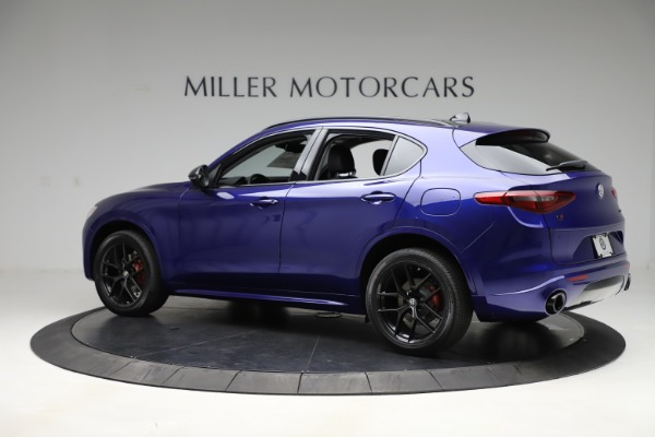 New 2020 Alfa Romeo Stelvio Ti Q4 for sale Call for price at Bentley Greenwich in Greenwich CT 06830 4