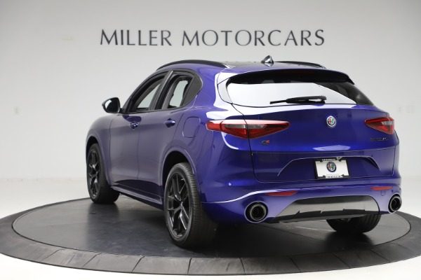 New 2020 Alfa Romeo Stelvio Ti Q4 for sale Call for price at Bentley Greenwich in Greenwich CT 06830 5
