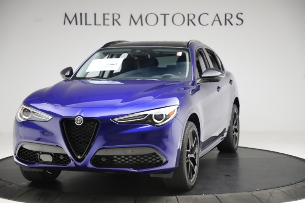 New 2020 Alfa Romeo Stelvio Ti Q4 for sale Call for price at Bentley Greenwich in Greenwich CT 06830 1