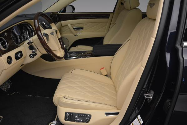 Used 2016 Bentley Flying Spur W12 for sale Sold at Bentley Greenwich in Greenwich CT 06830 14