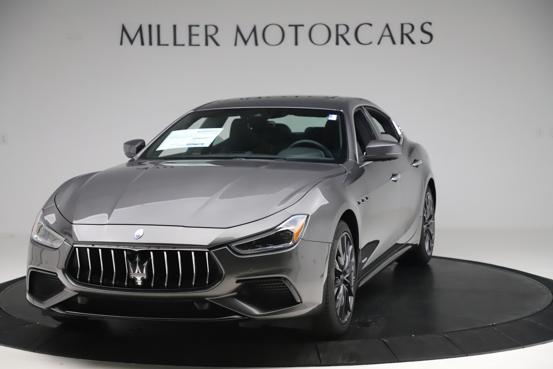 New 2019 Maserati Ghibli SQ4 GranSport for sale $100,695 at Bentley Greenwich in Greenwich CT 06830 1