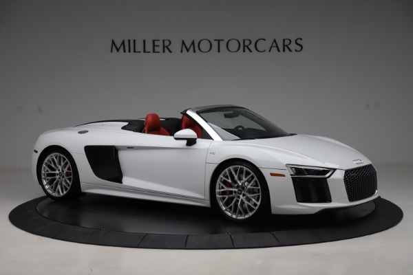 Used 2017 Audi R8 5.2 quattro V10 Spyder for sale $138,900 at Bentley Greenwich in Greenwich CT 06830 10