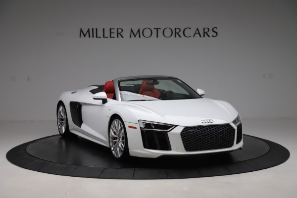 Used 2017 Audi R8 5.2 quattro V10 Spyder for sale $138,900 at Bentley Greenwich in Greenwich CT 06830 11