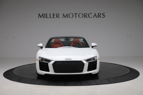 Used 2017 Audi R8 5.2 quattro V10 Spyder for sale $138,900 at Bentley Greenwich in Greenwich CT 06830 12