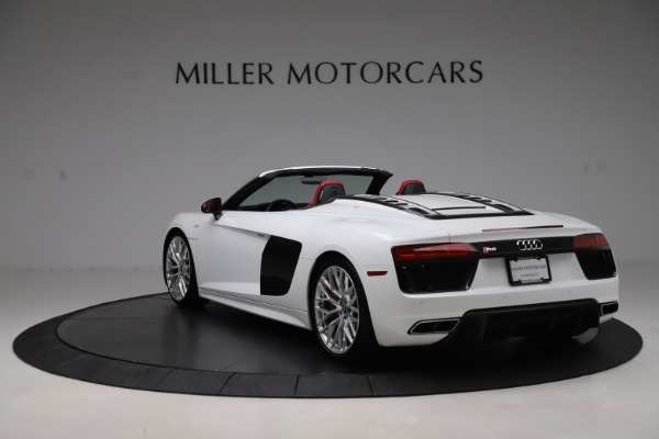 Used 2017 Audi R8 5.2 quattro V10 Spyder for sale $138,900 at Bentley Greenwich in Greenwich CT 06830 5