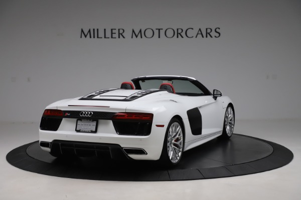 Used 2017 Audi R8 5.2 quattro V10 Spyder for sale $138,900 at Bentley Greenwich in Greenwich CT 06830 7
