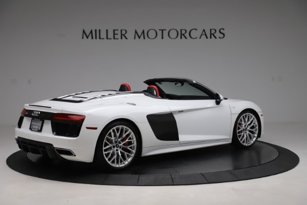 Used 2017 Audi R8 5.2 quattro V10 Spyder for sale $138,900 at Bentley Greenwich in Greenwich CT 06830 8