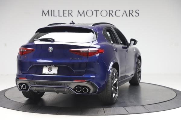 New 2020 Alfa Romeo Stelvio Quadrifoglio for sale Sold at Bentley Greenwich in Greenwich CT 06830 7