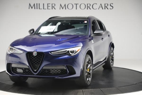 New 2020 Alfa Romeo Stelvio Quadrifoglio for sale Sold at Bentley Greenwich in Greenwich CT 06830 1