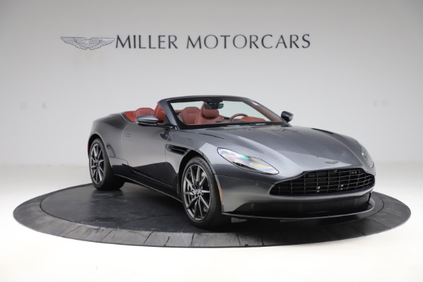 New 2020 Aston Martin DB11 Volante Convertible for sale $263,681 at Bentley Greenwich in Greenwich CT 06830 12