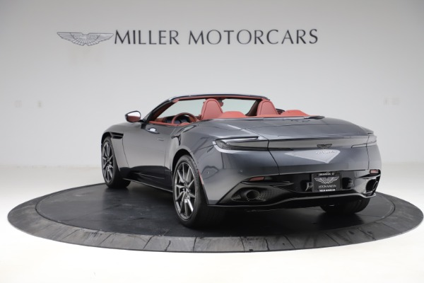 New 2020 Aston Martin DB11 Volante Convertible for sale $263,681 at Bentley Greenwich in Greenwich CT 06830 6