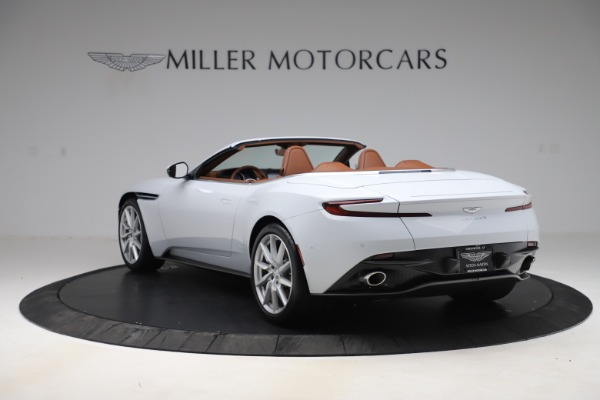 New 2020 Aston Martin DB11 Volante Convertible for sale $244,066 at Bentley Greenwich in Greenwich CT 06830 6