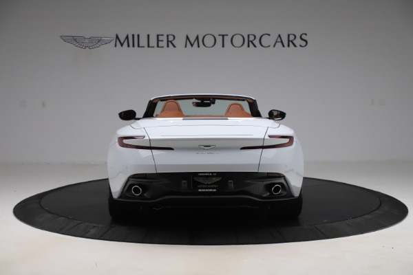 New 2020 Aston Martin DB11 Volante Convertible for sale $244,066 at Bentley Greenwich in Greenwich CT 06830 7