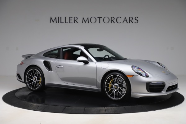Used 2017 Porsche 911 Turbo S for sale $154,900 at Bentley Greenwich in Greenwich CT 06830 10