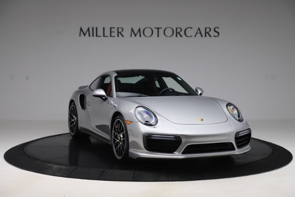 Used 2017 Porsche 911 Turbo S for sale $154,900 at Bentley Greenwich in Greenwich CT 06830 11