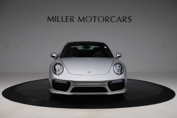 Used 2017 Porsche 911 Turbo S for sale $154,900 at Bentley Greenwich in Greenwich CT 06830 12