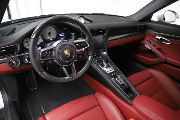 Used 2017 Porsche 911 Turbo S for sale $154,900 at Bentley Greenwich in Greenwich CT 06830 13