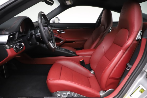 Used 2017 Porsche 911 Turbo S for sale $154,900 at Bentley Greenwich in Greenwich CT 06830 14