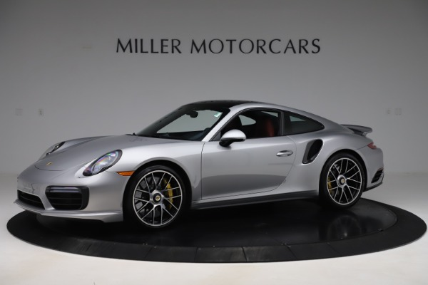 Used 2017 Porsche 911 Turbo S for sale $154,900 at Bentley Greenwich in Greenwich CT 06830 2