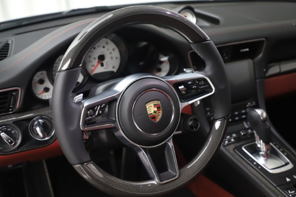 Used 2017 Porsche 911 Turbo S for sale $154,900 at Bentley Greenwich in Greenwich CT 06830 21
