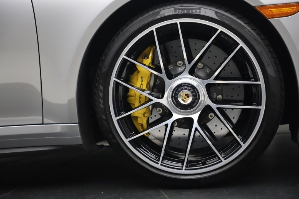 Used 2017 Porsche 911 Turbo S for sale $154,900 at Bentley Greenwich in Greenwich CT 06830 25