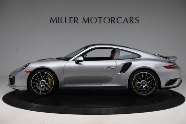 Used 2017 Porsche 911 Turbo S for sale $154,900 at Bentley Greenwich in Greenwich CT 06830 3