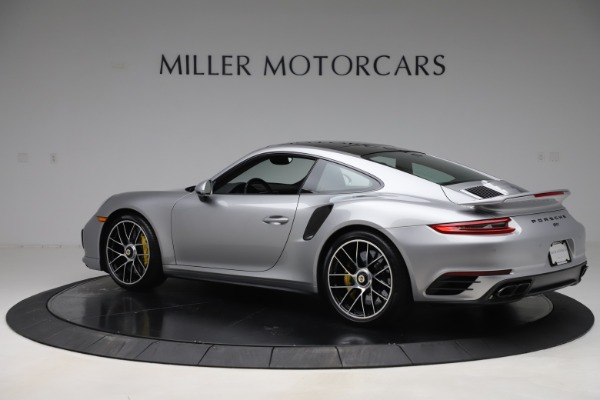 Used 2017 Porsche 911 Turbo S for sale $154,900 at Bentley Greenwich in Greenwich CT 06830 4