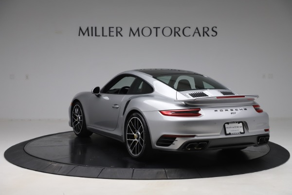 Used 2017 Porsche 911 Turbo S for sale $154,900 at Bentley Greenwich in Greenwich CT 06830 5