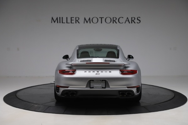 Used 2017 Porsche 911 Turbo S for sale $154,900 at Bentley Greenwich in Greenwich CT 06830 6