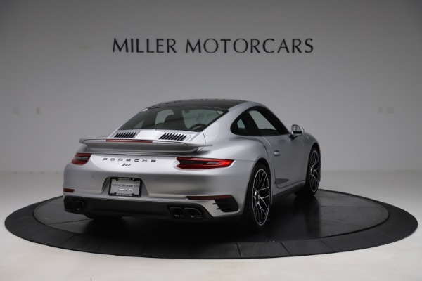 Used 2017 Porsche 911 Turbo S for sale $154,900 at Bentley Greenwich in Greenwich CT 06830 7