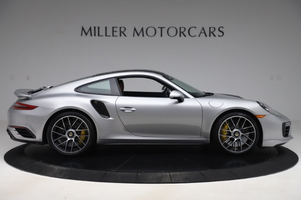 Used 2017 Porsche 911 Turbo S for sale $154,900 at Bentley Greenwich in Greenwich CT 06830 9