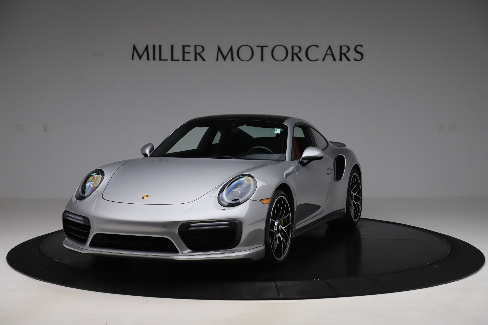 Used 2017 Porsche 911 Turbo S for sale $154,900 at Bentley Greenwich in Greenwich CT 06830 1