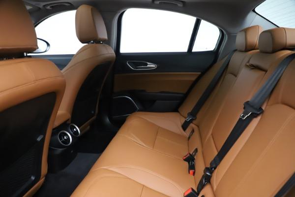 New 2020 Alfa Romeo Giulia Ti Q4 for sale $51,145 at Bentley Greenwich in Greenwich CT 06830 19