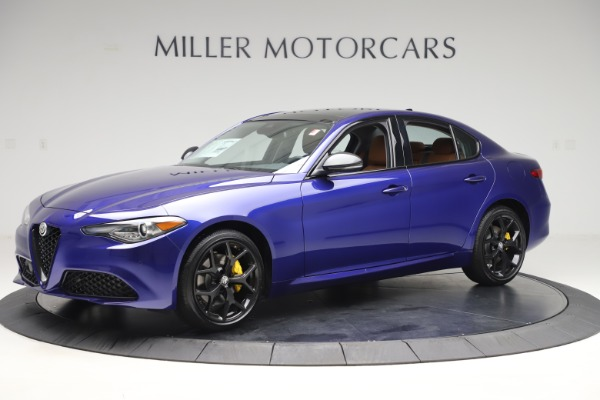 New 2020 Alfa Romeo Giulia Ti Q4 for sale $51,145 at Bentley Greenwich in Greenwich CT 06830 2