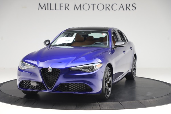 New 2020 Alfa Romeo Giulia Ti Q4 for sale $51,145 at Bentley Greenwich in Greenwich CT 06830 1