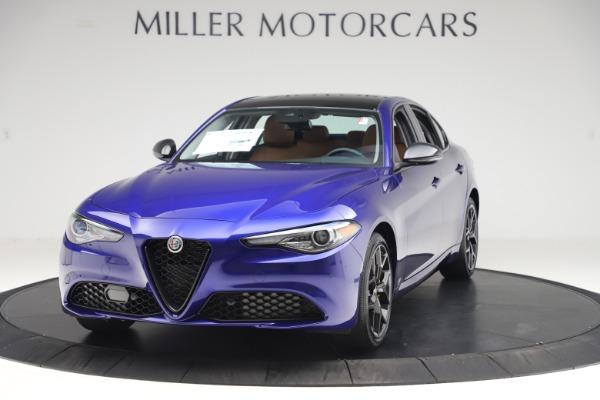 New 2020 Alfa Romeo Giulia Ti Q4 for sale Sold at Bentley Greenwich in Greenwich CT 06830 1