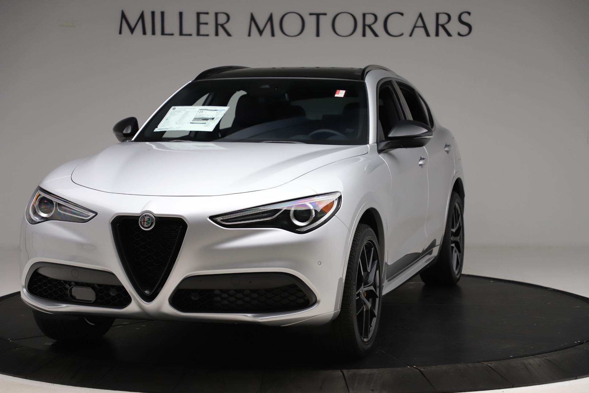New 2020 Alfa Romeo Stelvio Ti Sport Q4 for sale $55,345 at Bentley Greenwich in Greenwich CT 06830 1