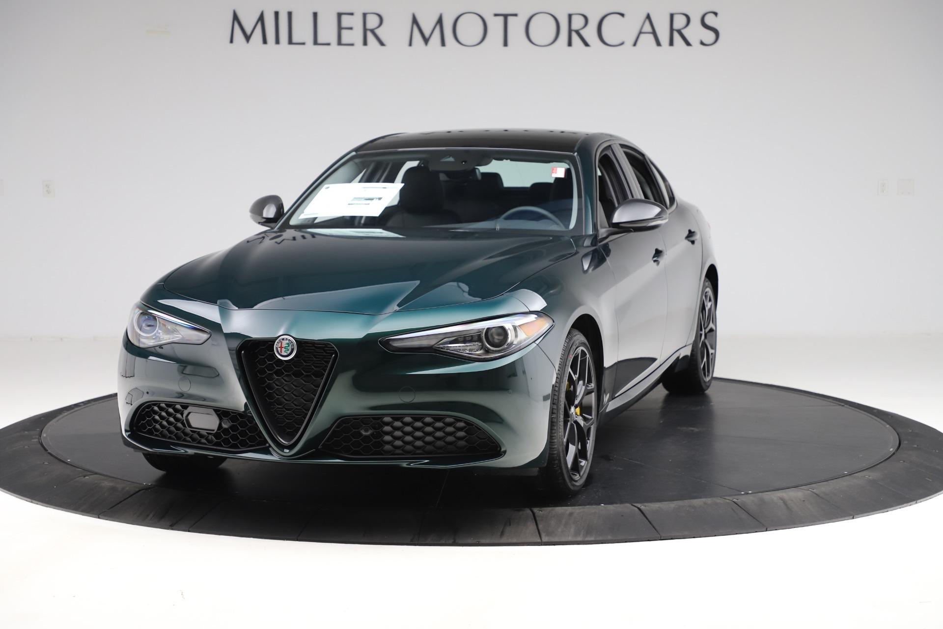 New 2020 Alfa Romeo Giulia Ti Q4 for sale $48,545 at Bentley Greenwich in Greenwich CT 06830 1
