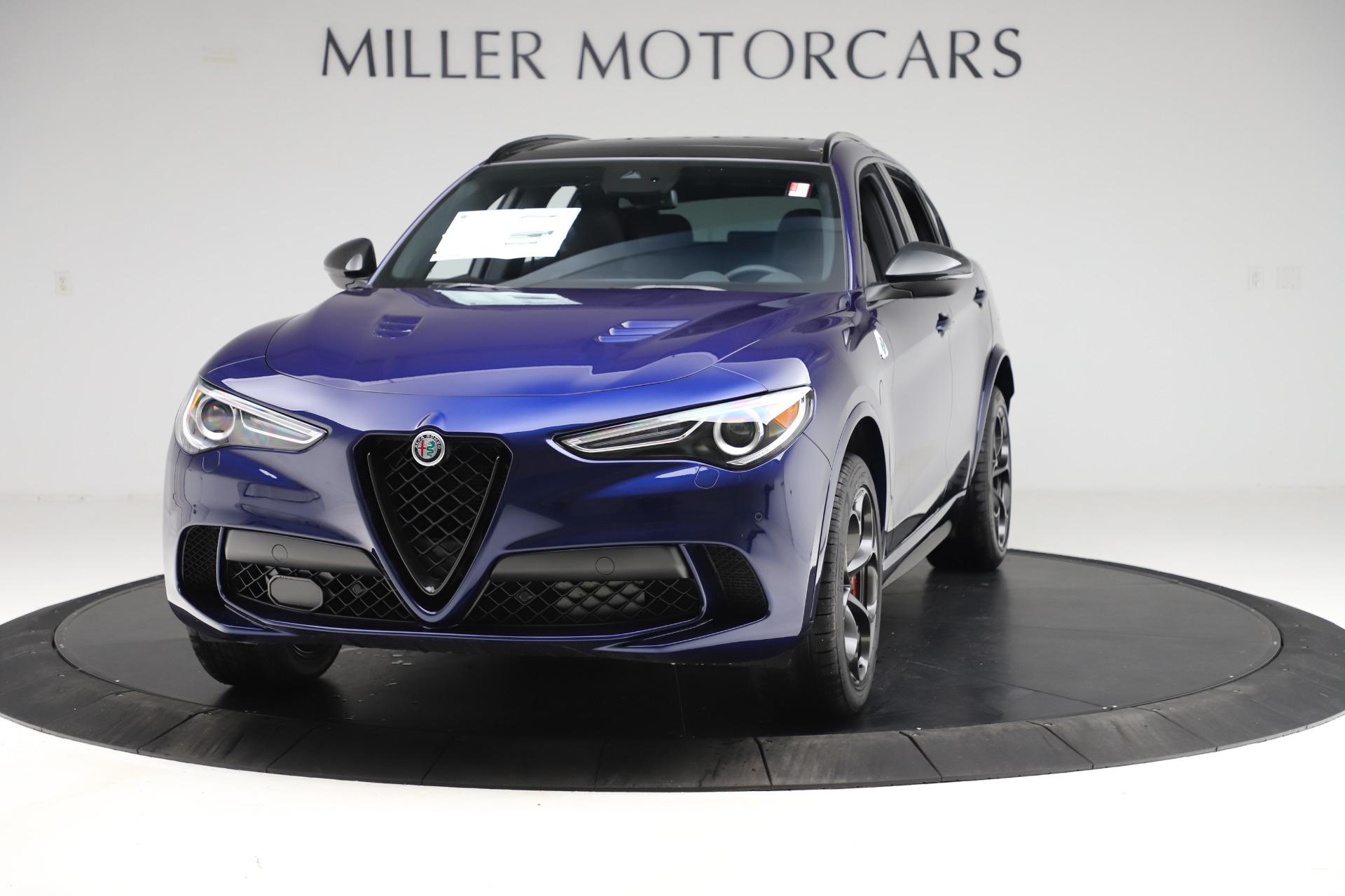 New 2020 Alfa Romeo Stelvio Quadrifoglio for sale $88,390 at Bentley Greenwich in Greenwich CT 06830 1