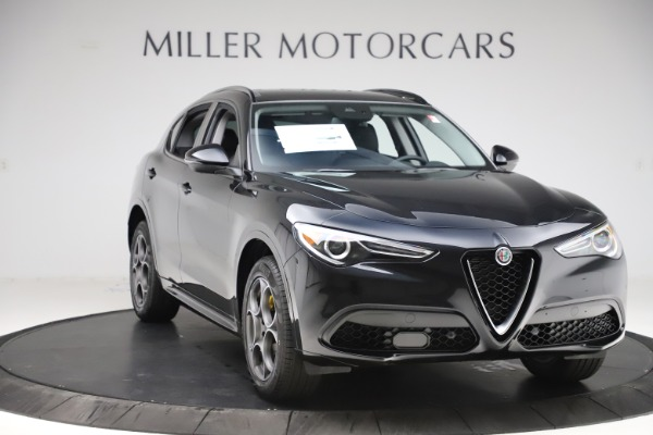 New 2020 Alfa Romeo Stelvio Sport Q4 for sale Call for price at Bentley Greenwich in Greenwich CT 06830 11