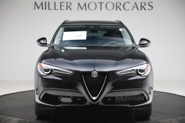 New 2020 Alfa Romeo Stelvio Sport Q4 for sale Call for price at Bentley Greenwich in Greenwich CT 06830 12