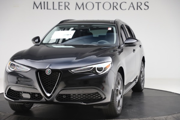 New 2020 Alfa Romeo Stelvio Sport Q4 for sale $49,695 at Bentley Greenwich in Greenwich CT 06830 1