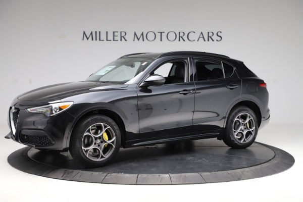 New 2020 Alfa Romeo Stelvio Sport Q4 for sale $49,695 at Bentley Greenwich in Greenwich CT 06830 2