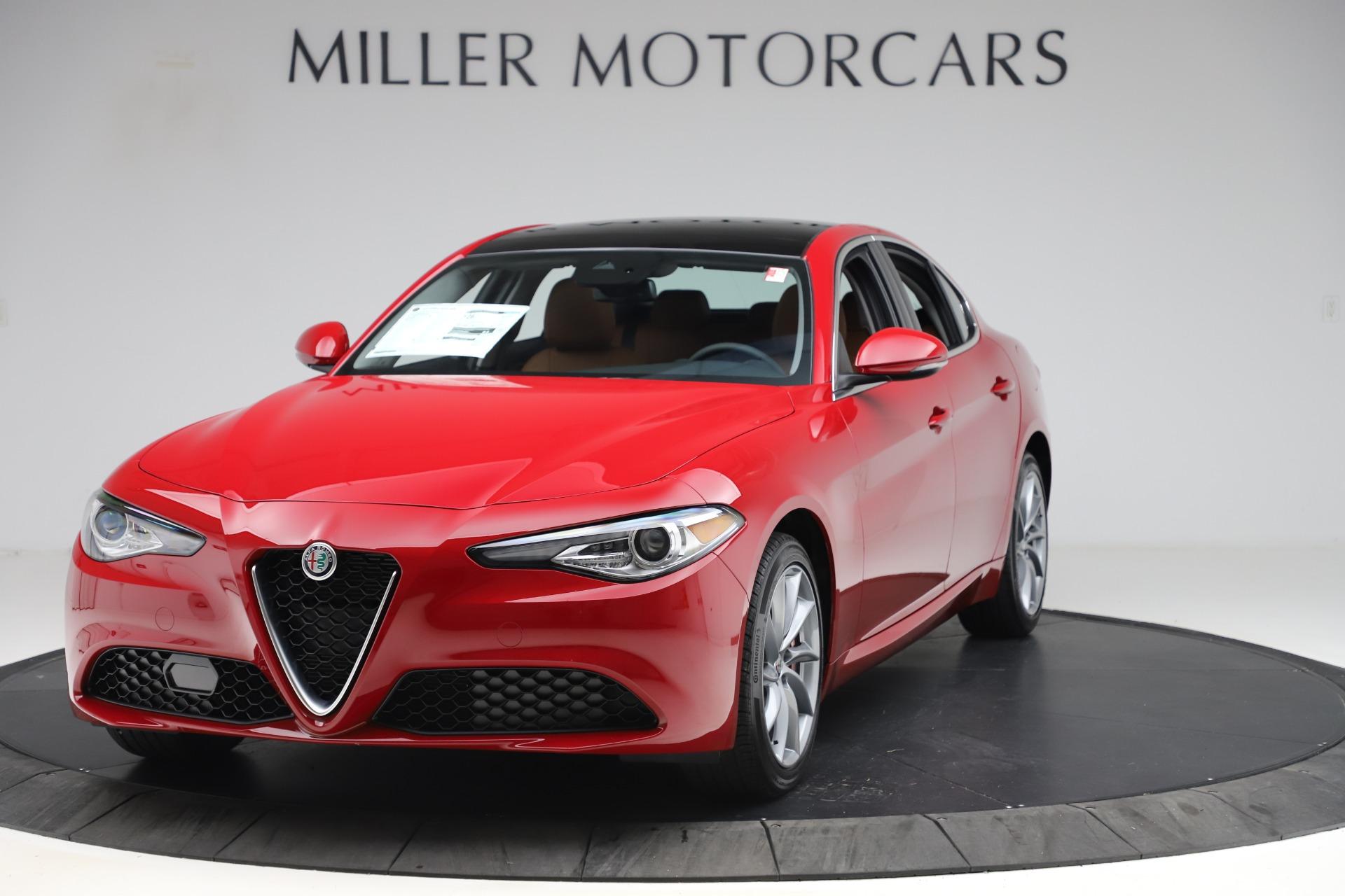 New 2020 Alfa Romeo Giulia Q4 for sale $46,395 at Bentley Greenwich in Greenwich CT 06830 1