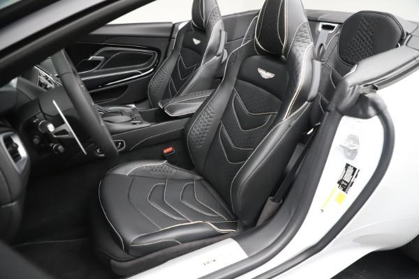 New 2020 Aston Martin DBS Superleggera Volante Convertible for sale $353,931 at Bentley Greenwich in Greenwich CT 06830 15