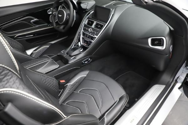 New 2020 Aston Martin DBS Superleggera Volante Convertible for sale $353,931 at Bentley Greenwich in Greenwich CT 06830 17