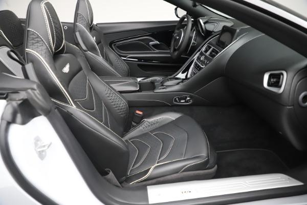New 2020 Aston Martin DBS Superleggera Volante Convertible for sale $353,931 at Bentley Greenwich in Greenwich CT 06830 18