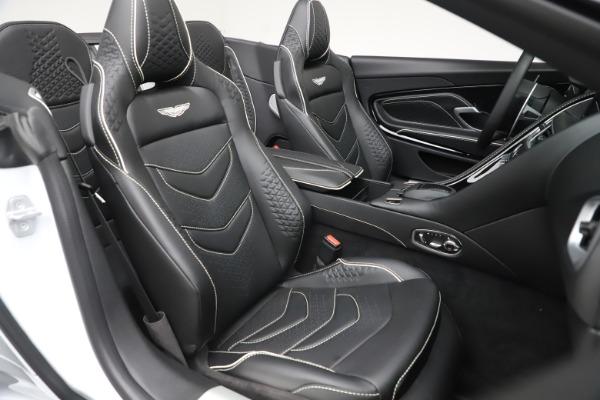 New 2020 Aston Martin DBS Superleggera Volante Convertible for sale $353,931 at Bentley Greenwich in Greenwich CT 06830 19