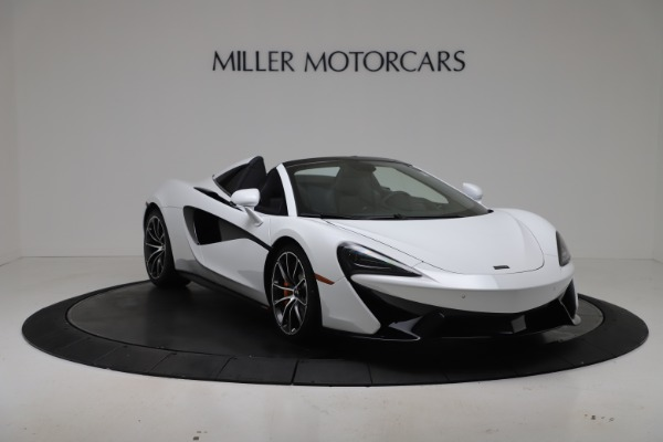 New 2020 McLaren 570S Spider Convertible for sale $231,150 at Bentley Greenwich in Greenwich CT 06830 10